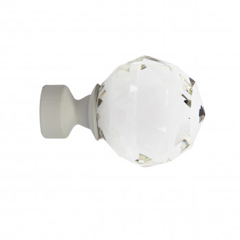 LOFT - Diamond Finial White...