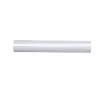 Metal Wardrobe rod White 100cm