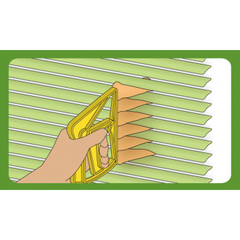 Slats cleaner brush for...